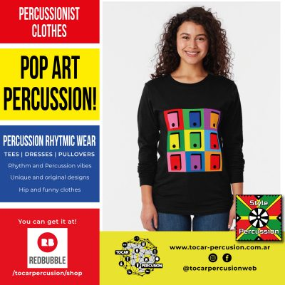 Style Percussion Wear - Color + Rhythm + Percussion